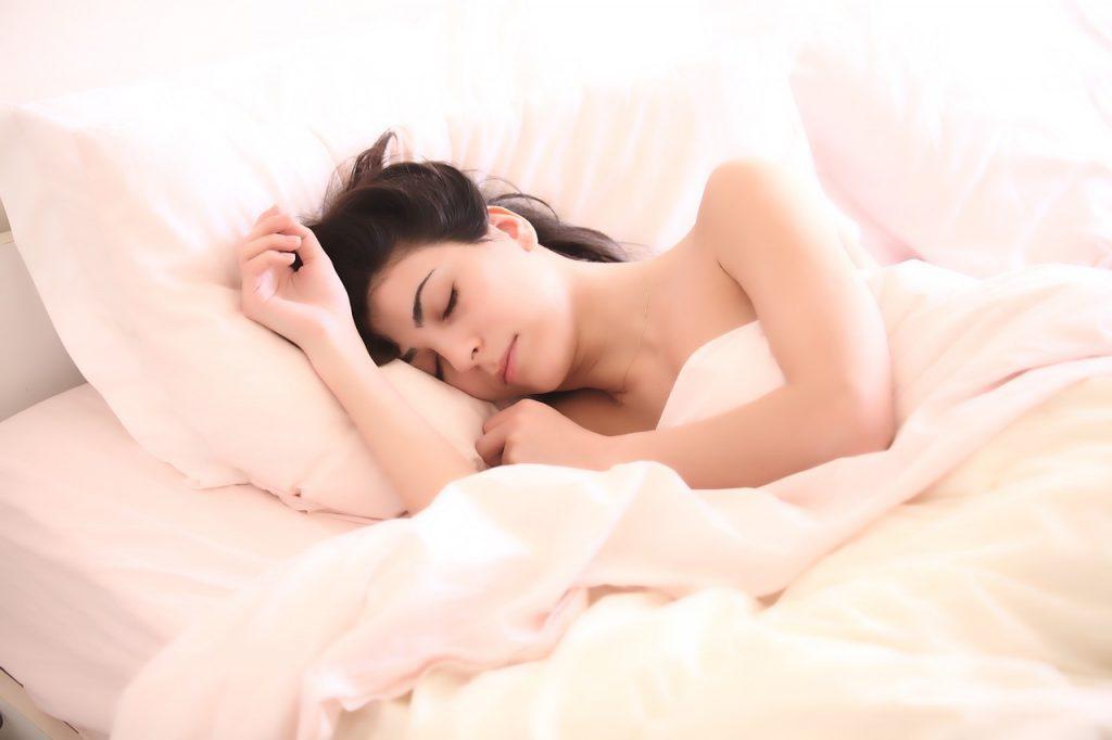 woman, asleep, girl